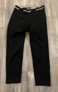 Womens Ivy Park Black Workout Pants Size Small