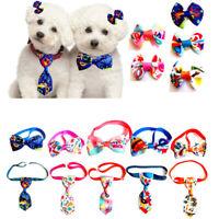 Pet Dog Cat Elegant Bow Tie Collar Necktie Fahsion Adjustable Pet Accessories