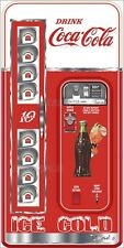 COCA COLA MACHINE AND GOOD HUMOR PRINTED ADHESIVE VINYL DECAL FRIDGE FREEZER LOT