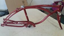 1967 SCHWINN STINGRAY 3  SPEED FRAME WITH CHAIN GUARD AND FRONT FORK NICE L$$K!!