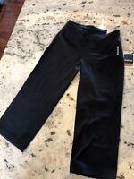 Reebok Capri Pants XS Regular Fit Capri Black Yoga Leggings Workout MSRP$350