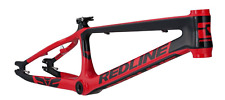 REDLINE BIKES FLIGHT CARBON PRO XXL BMX FRAME RED BLACK 21.7 BIKE RACE 2019