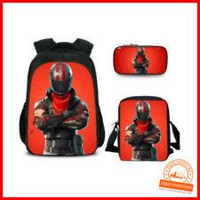 Fortnite Game Battle Royale Kinder Rucksack Schultasche Set Federmappe