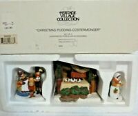 Dept 56 Heritage Village Christmas Pudding Costermonger - 58408