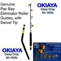 "OKIAYA Venom-Pro ""The Destroyer"" Deep Drop Bent Butt PacBay Roller Rod 80-160LB"