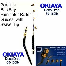 OKIAYA Venom-Pro Deep Drop Bent Butt Pac Bay Swivel Tip Carbon Rod 80-160LB