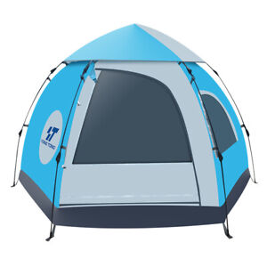5-6 People Camping Hiking Tent Waterproof Automatic Outdoor Instant Pop Up Tent