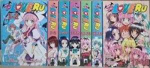 To Love Ru Omnibus English Manga Vol. 1,4-9 Brand New in English (missing 2,3)
