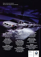 2003 BMW 3-Series -  Classic Vintage Advertisement Ad D10