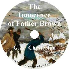 The Innocence of Father Brown, Mystery Audiobook by G K Chesterton on 1 MP3 CD