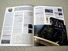 Accuphase E-210 integrated amplifier brochure, ENGLISH