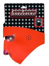 Blaze Hunter Orange Capsmith Full Face Mask Neoprene Mask Hunting Biker ATV Ski