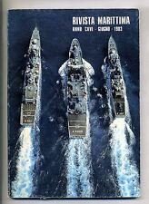 RIVISTA MARITTIMA-ANNO CXVI-GIUGNO-1983-N.6 # Periodico mensile Marina Militare