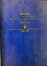 HISTORY OF THE ANCIENT & ACCEPTED SCOTTISH RITE OF FREEMASONRY