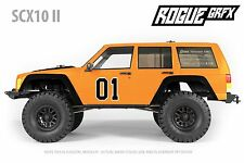 Axial SCX10 II Cherokee Body Graphic Wrap Skin - General Lee