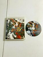 Street Fighter IV (Sony PlayStation 3, 2009) - GAME & ORIGINAL CASE (TESTED)