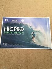 New 2015 Vans-Hic Pro Surf Contest-Sunset Beach North Shore Oahu Limited Poster