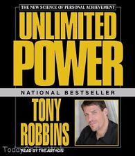 Unlimited Power Featuring Tony Robbins Live! Audiobook CD  Anthony (Tony) Robbin