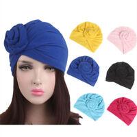 Women Indian Cotton Twist Knot Bonnet Hijab Turban Cap Beanie Hat Headscarf Wrap