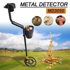 MD3050 Deep Sensitive Metal Detector LCD Searching Gold Digger Treasure Hunter