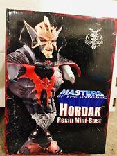 2005 NECA MOTU Masters of the Universe Hordak Bust Statue 667/1500 Warlord Heman