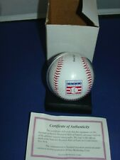 First National Baseball Hall of Fame 1936 Commemorative Laser Autograph~ Coa