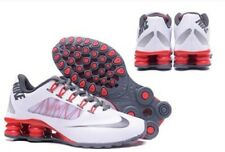 HOT NEW Women's Red/Gray/White NIKE Shox Athletic Running Shoes