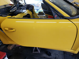 Porsche 911 997 Boxster Cayman Right Door Passenger Side 99753101204 OEM Yellow