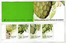 Madeira Booklet sc#142b (1990) Sub-Tropical Fruits and Plants MNH** (T)