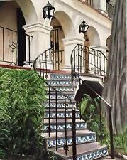 Original Oil On Canvas By Artist- La Mansion San Antonio Riverwalk 11 X14 - $275