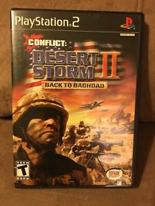 Conflict: Desert Storm II - Back to Baghdad (Sony PlayStation 2) PS2 - No Manual