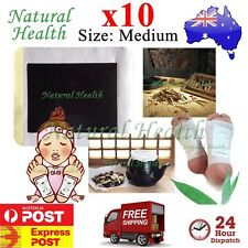 10 Foot Pad Patch Traditional Chinese Herbal Herbs Natural Plant Extract Medium