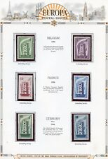 EUROPA 1956  SELECTION OF SETS   MINT NEVER HINGED