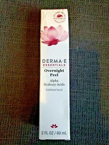 DERMA-E DERMA E - ESSENTIALS - OVERNIGHT PEEL - 2 fl oz / 60 ml - NIB