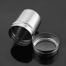 Stainless Steel Flour Salt Sifter Icing Sugar Dredger Chocolate Powder Hot Sales