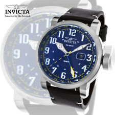 Invicta 22251 Aviator Swiss Stainless Steel And Leather Casual Watch