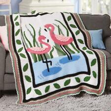 Herrschners® Flamingos Afghan Kit