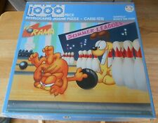 "Garfield Bowls 'Em Over 1000 piece Jigsaw Puzzle 1978 Completed Size 23"" x 29"""