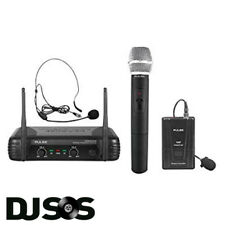 Next Day Free Batts Pulse PWM200VHFHH Dual Handheld Wireless Microphone System