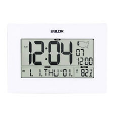 BALDR Atomic Dual Alarm Clock Wall Clock Calendar Temperature Desk bedroom