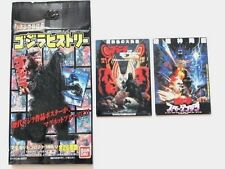 ORIGINAL BANDAI 2 MAGNET SET GODZILLA VS MOTHRA BATTLE EARTH GODZILLA VS SPACE G