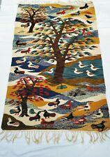 Harraneyatapisserie du joyeux Art Naifs. Tissé à la main en 1985_Egypt