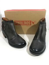Pikolinos 838-8696 Le Mans Women's Size 9.5-10 (40) Lead Gray Booties X1-68