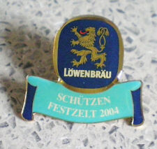 OKTOBERFEST MÜNCHEN-PIN VOM SCHÜTZEN FESTZELT 2004-TOP--LÖWENBRÄU-München-BI 584
