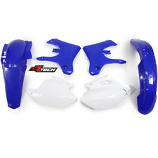 Racetech plastic kit. WHITE BLUE YAMAHA WR 250 450 F 2005 - 2006