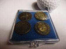 U.S.Open PGA Commemorative 4pc Ball Market Set Pebble Beach Pinehurst Olympic