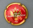 C35 Capsule de Champagne CANARD DUCHENE N° 50 ROUGE CONTOUR OR