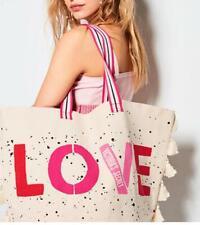 Victoria's Secret Graphic Love Tote Bag