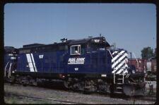 35mm slide IMRL I&M Rail Link EMD GP9 107 Nahant IA USA 1997 original