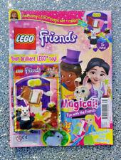 LEGO Friends Magazine #71 2020 Cute Dressing Table Set & Ice Cream Machine Toy
